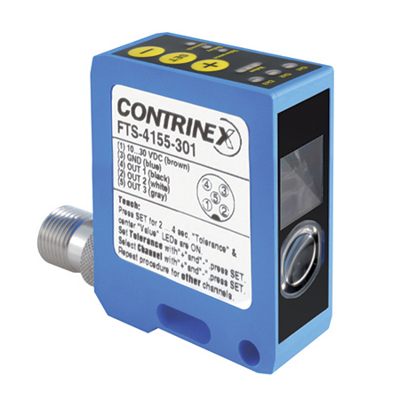 Contrinex product finder FTS-4155-301