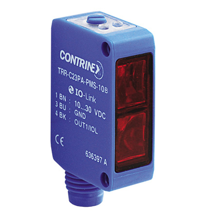 Contrinex product finder TRR-C23PA-PMS-10B