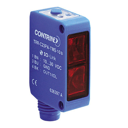 Contrinex product finder TRR-C23PA-TMS-10B