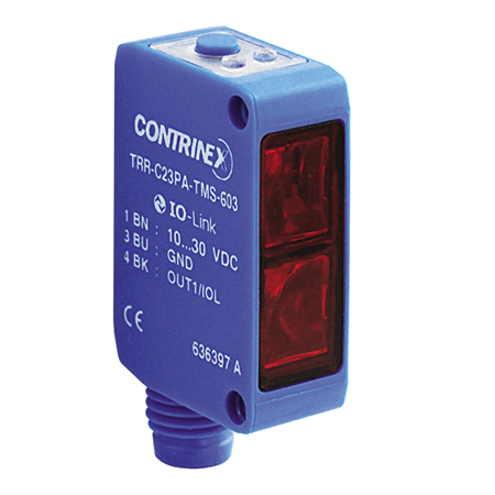 Contrinex product finder TRR-C23PA-TMS-603