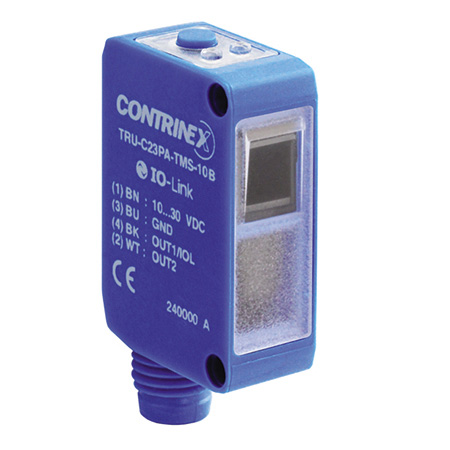 Contrinex product finder TRU-C23PA-TMS-10B